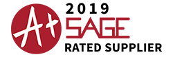 2018 SAGE A+ Rated Supplier