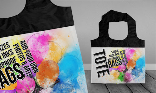 TOTE BAG: SMALL (2)